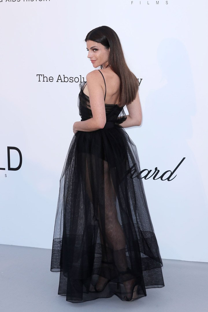Julia Restoin Roitfeld Gala amfAR 2018 Cannes