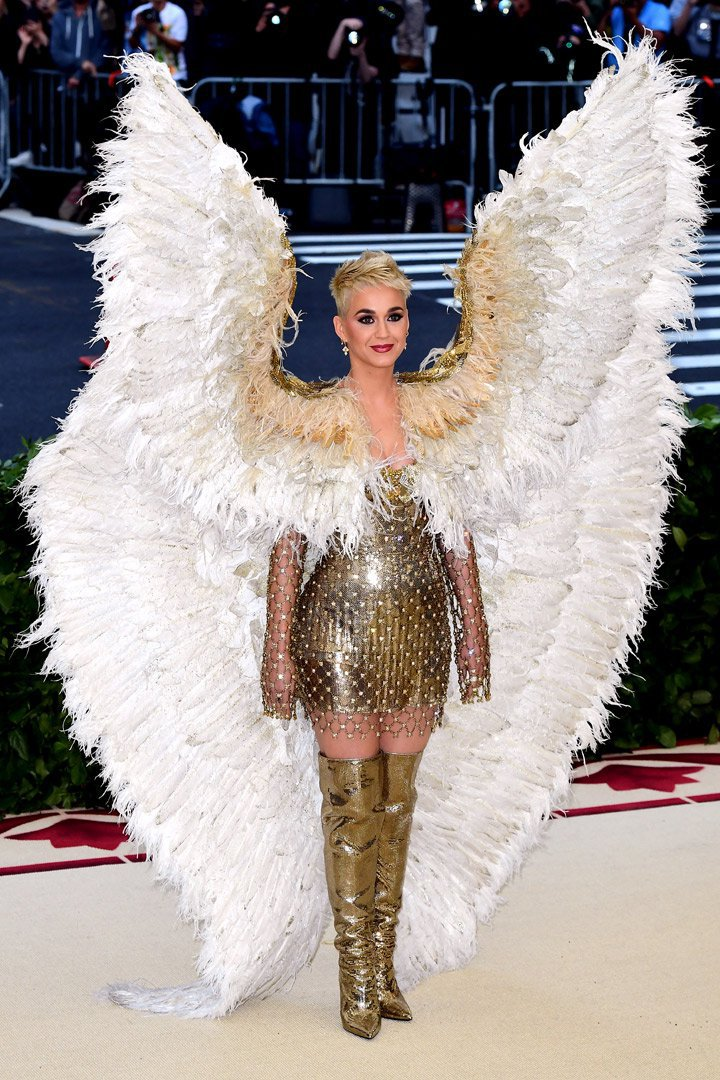 Katy Perry Looks Met Gala 2018