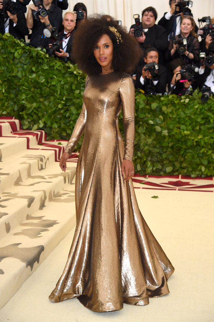 Kerry Washington Looks Met Gala 2018