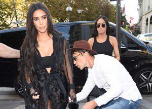 Kim Kardashian, acosada por el agresor de Gigi Hadid