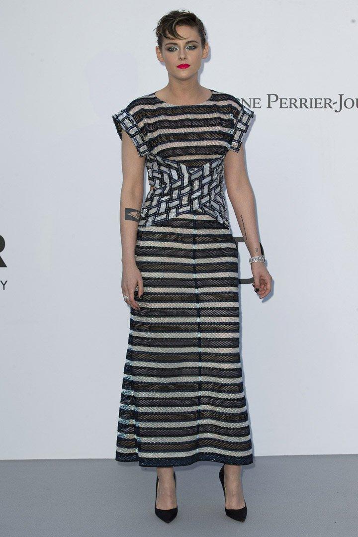 Kristen Stewart Gala amfAR 2018 Cannes
