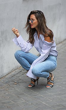 lady addict camisa storets