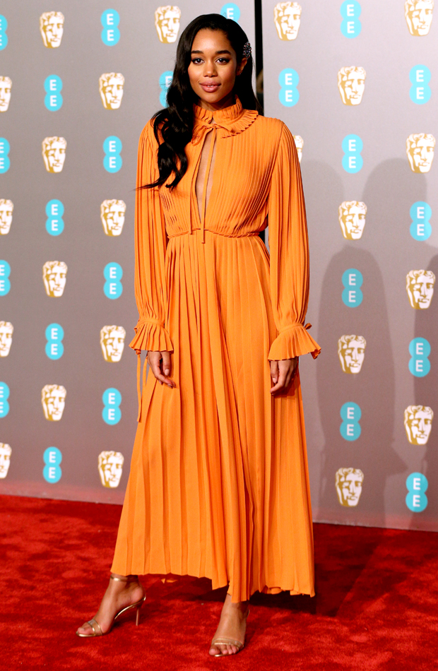 Laura Harrier Premios BAFTA 2019