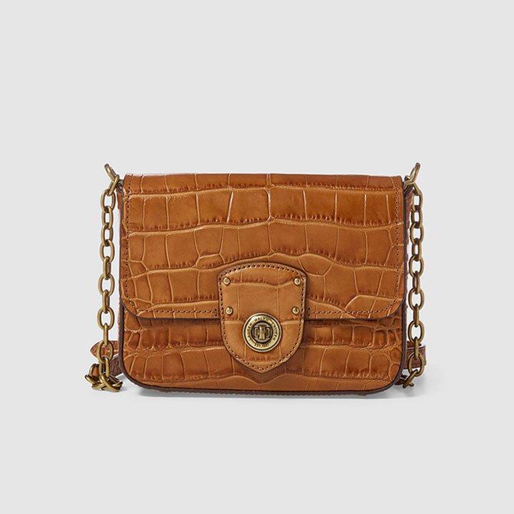 Estampado piel de cocodrilo de Lauren Ralph Lauren: bolsos próximos meses