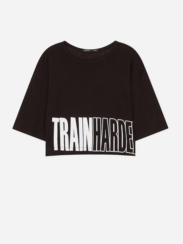 Camiseta cropped de la colección Lefties Sportswear SS 2019