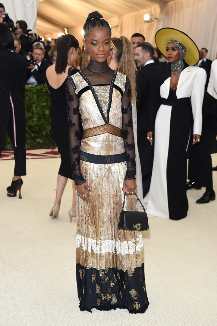Letitia Wright Looks Met Gala 2018