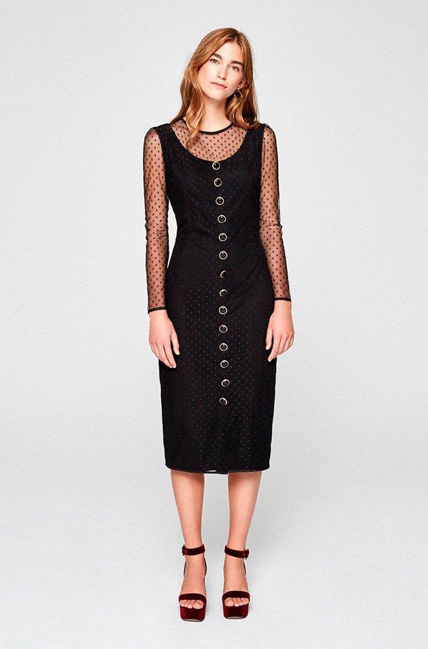 Vestido de plumeti de Mioh