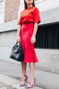 Las claves para conseguir un look monochromatic