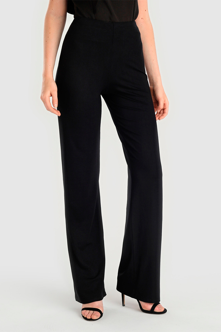 Pantalones anchos negros de Easy Wear