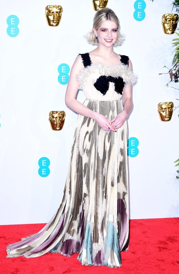 Lucy Boynton Premios BAFTA 2019