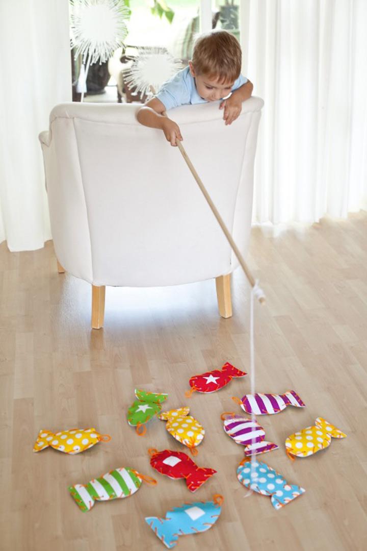 manualidades para niños peces