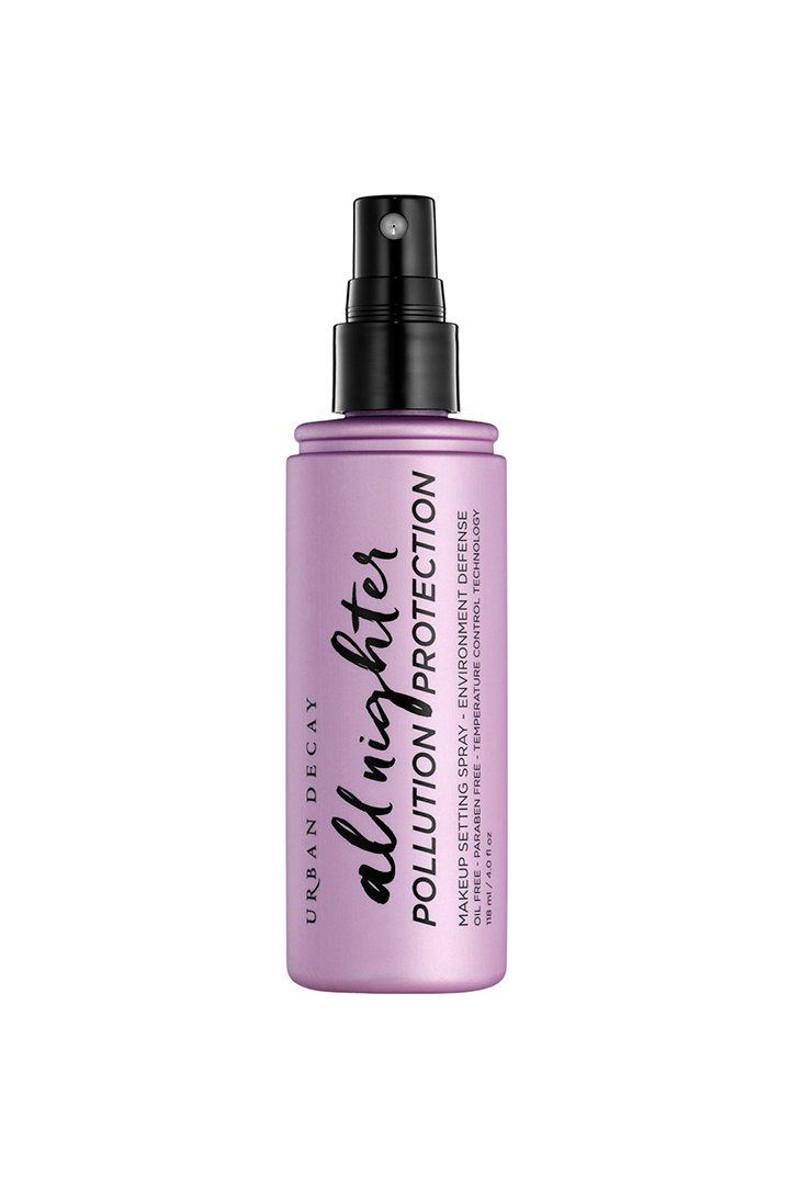 Maquillaje ultra resistente: Spray fijador Polution Protection Urban Decay