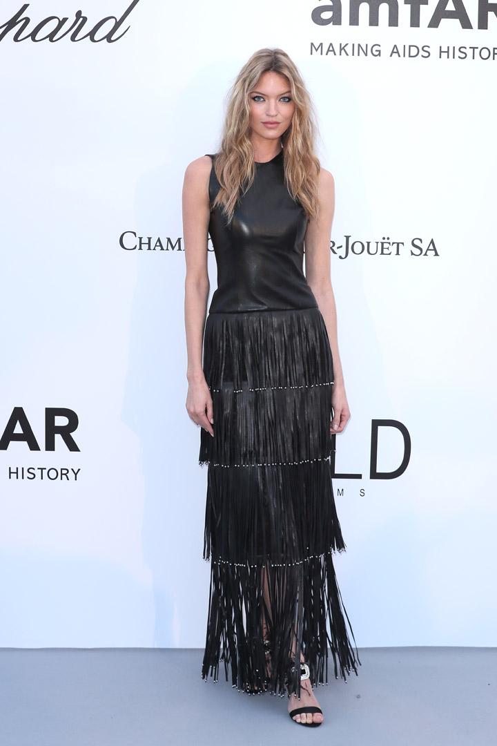 Martha Hunt Gala amfAR 2018 Cannes