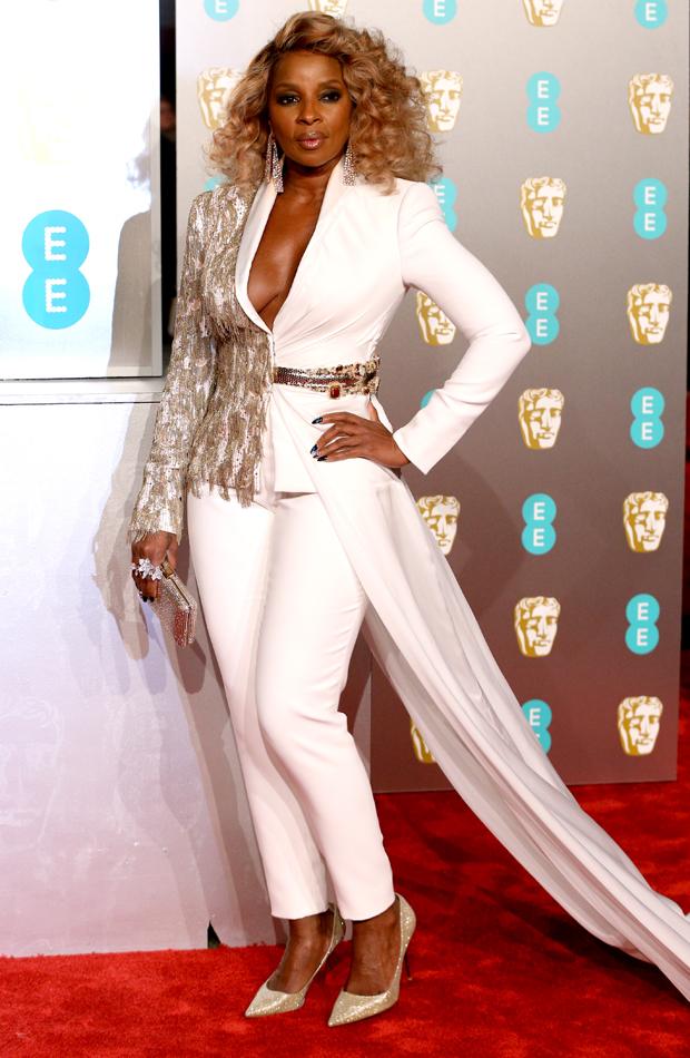 Mary J. Blige Premios BAFTA 2019