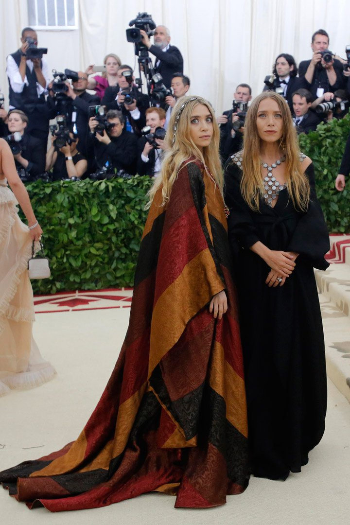Ashley Olsen y Mary Kate Olsen Looks Met Gala 2018