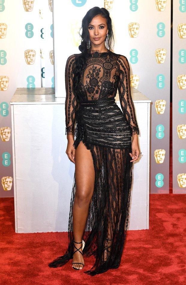 Maya Jama Premios BAFTA 2019