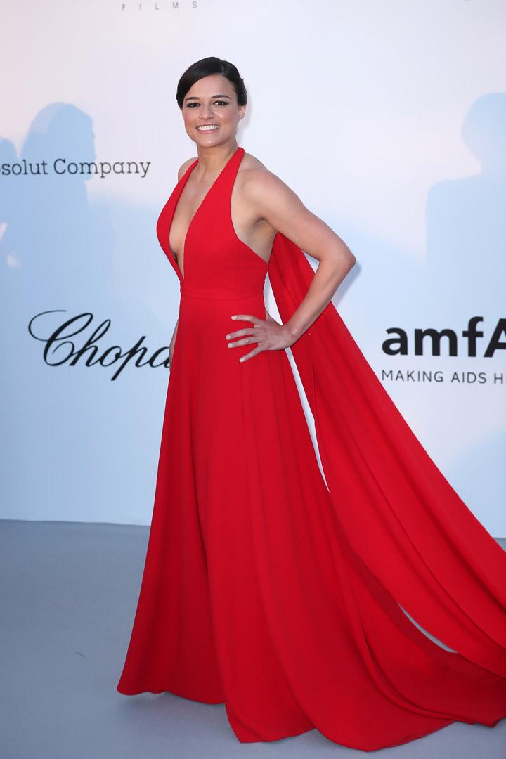 Michelle Rodriguez Gala amfAR 2018 Cannes