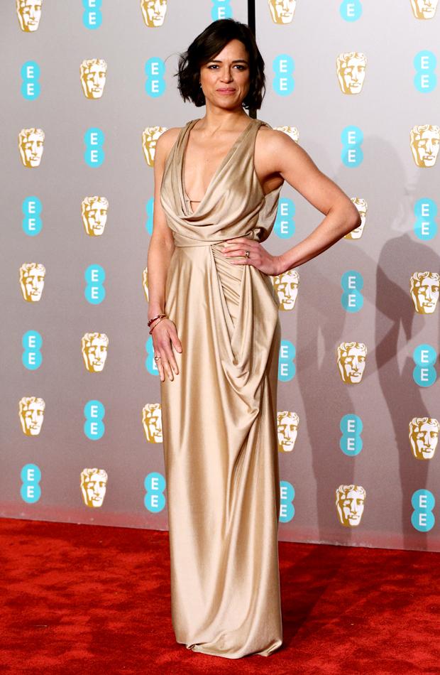 Michelle Rodríguez Premios BAFTA 2019