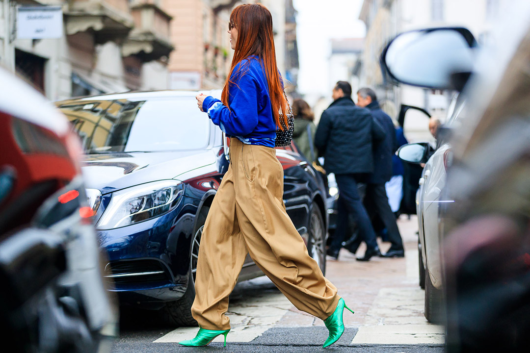 Street style de Milan Fashion Week