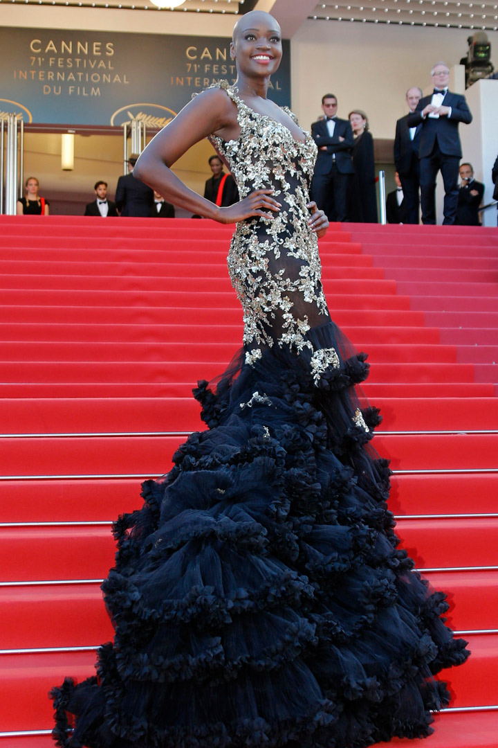Miriam Odemba Cannes 2018