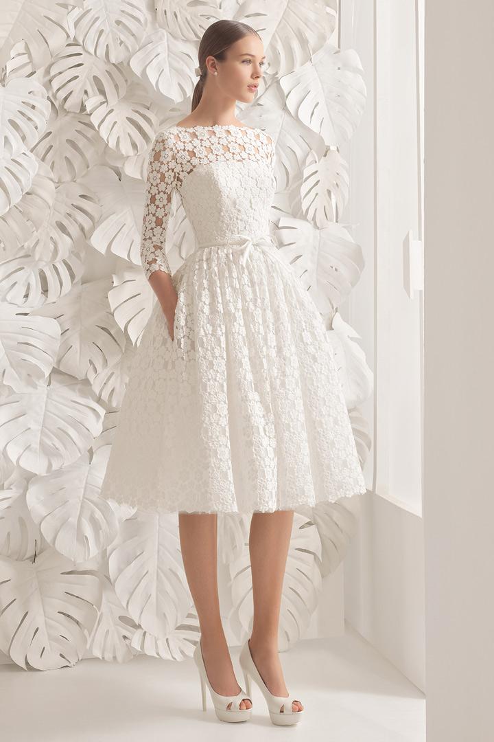 Vestido de novia cortos de novias