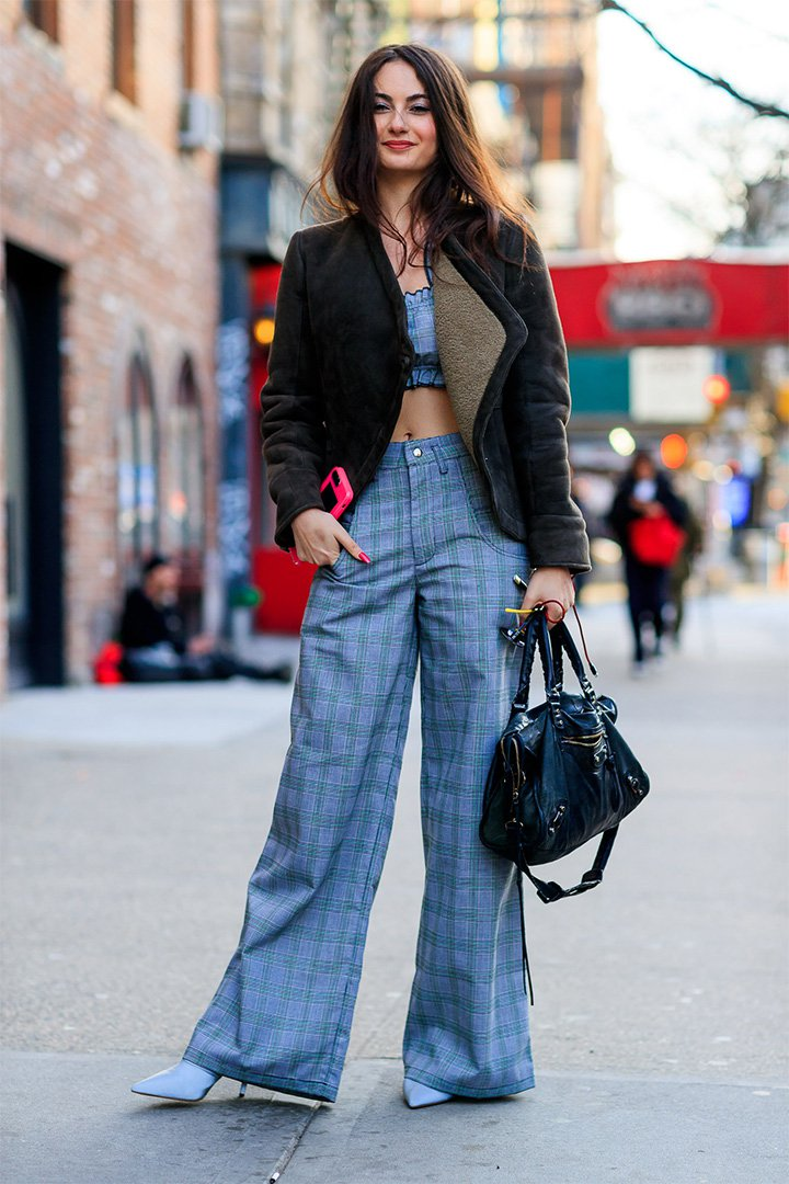 Look inspirador en New York Fashion Week
