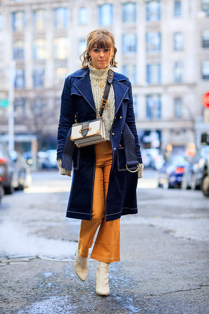 Looks inspiradores en New York Fashion Week