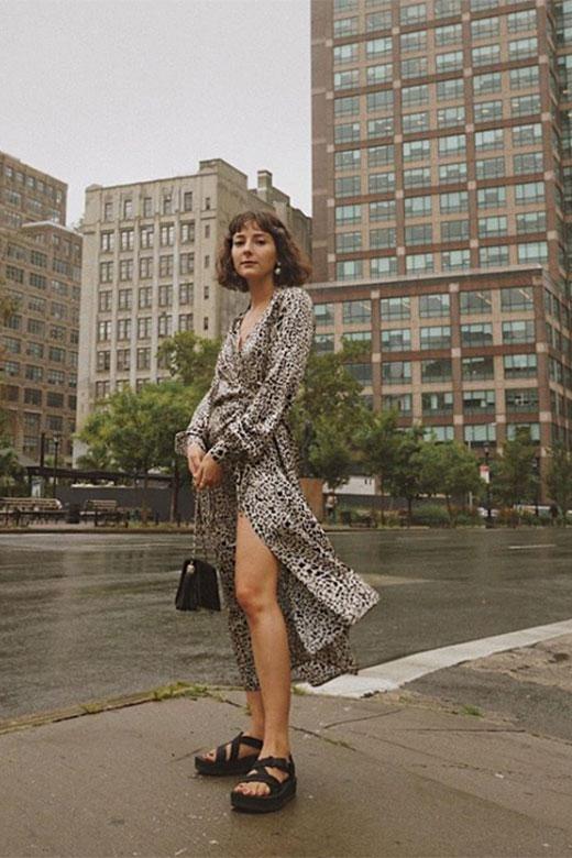 Alyssa en NYFW Sept 2018