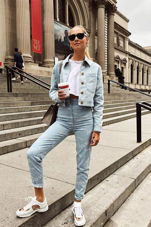 Chiara Ferragni en NYFW Sept 2018
