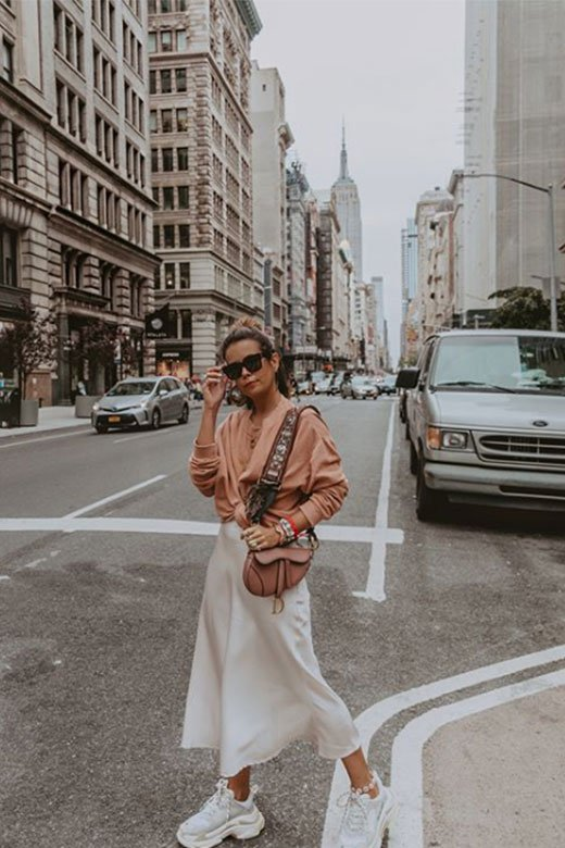 Collage vintage en NYFW Sept 2018