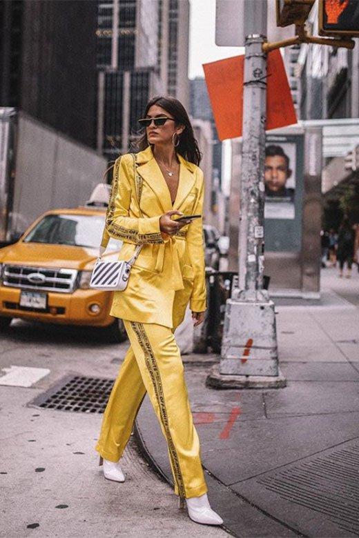 Marta Lozano en NYFW Sept 2018