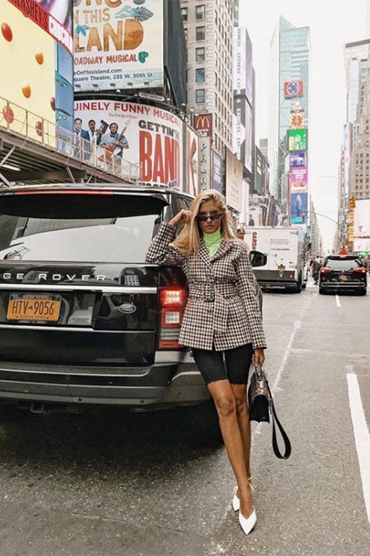 Teresa Andrés en NYFW Sept 2018