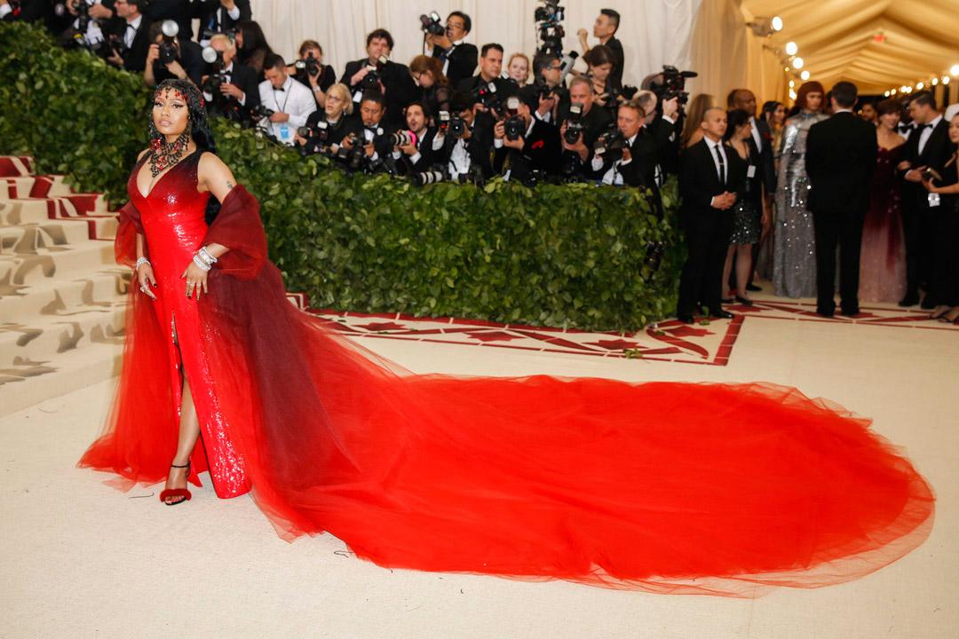 Nicki Minaj Looks Met Gala 2018