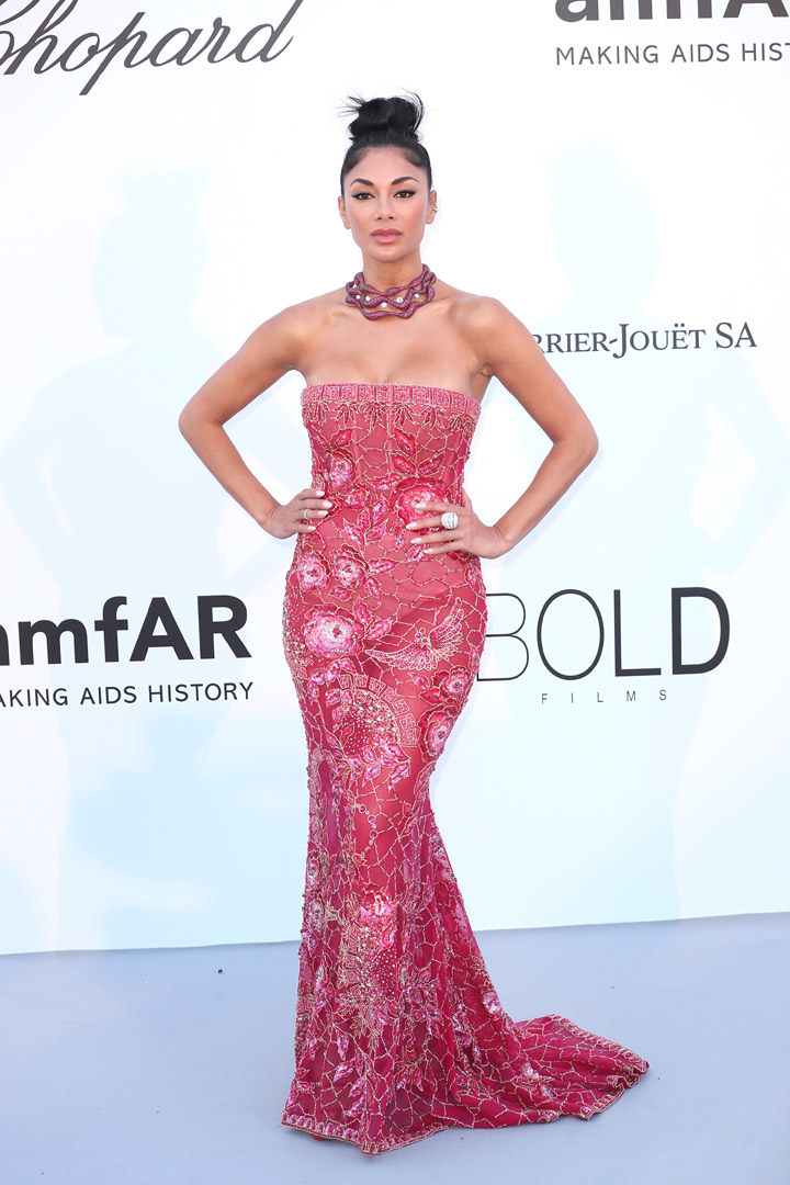 Nicole Scherzinger Gala amfAR 2018 Cannes