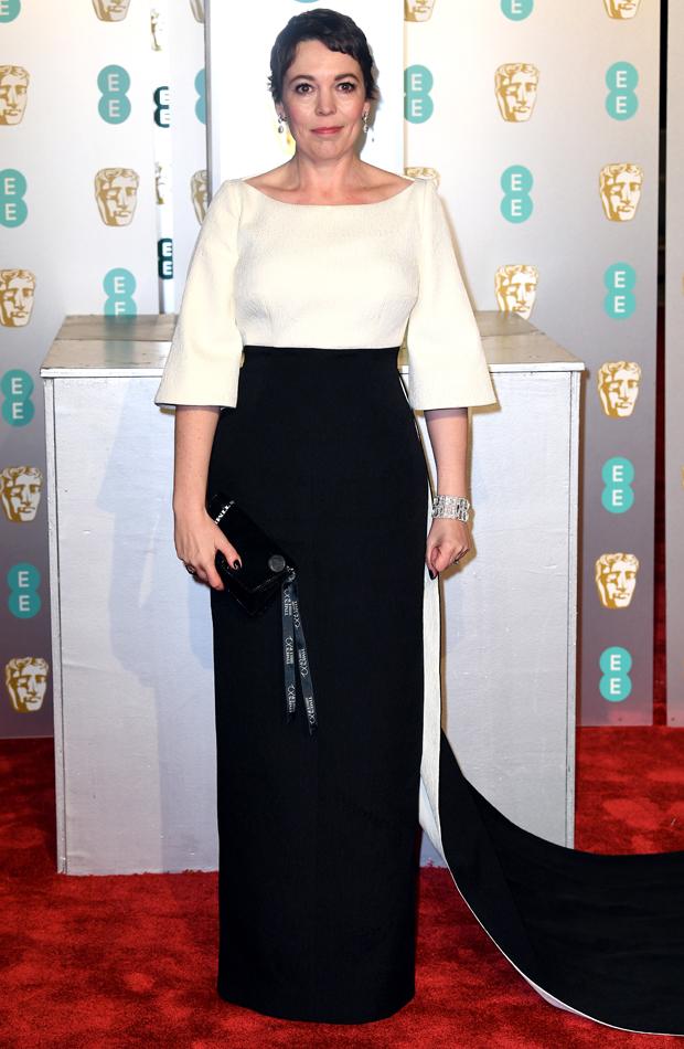 Olivia Coleman Premios BAFTA 2019