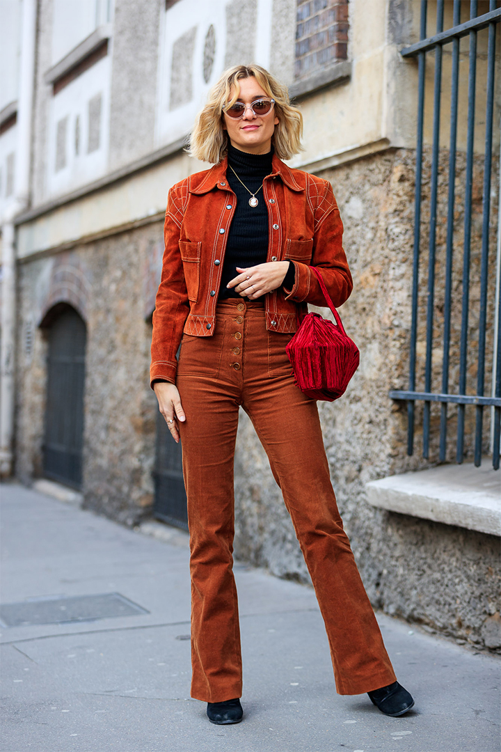 sabina socol en Paris Fashion Week