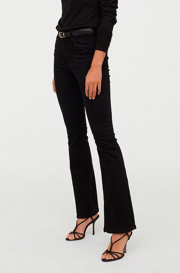 Jeans acampanados de H&M