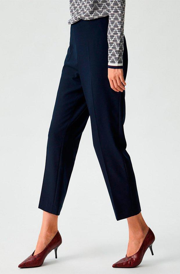 Pantalones masculinos azules de El Corte Inglés