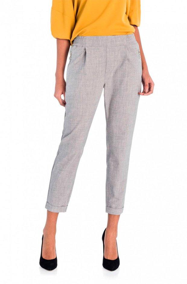 Pantalones masculinos gris claro de El Corte Inglés