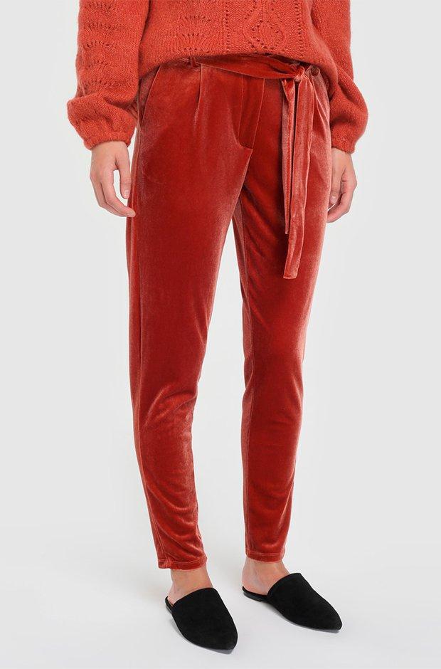 Pantalones masculinos de terciopelo