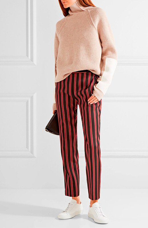 Pantalones de rayas de Tomar Maier