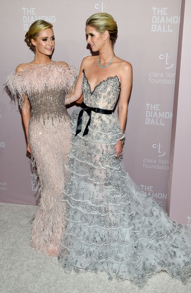 Paris Hilton y Nicky Hilton Diamond Ball 2018