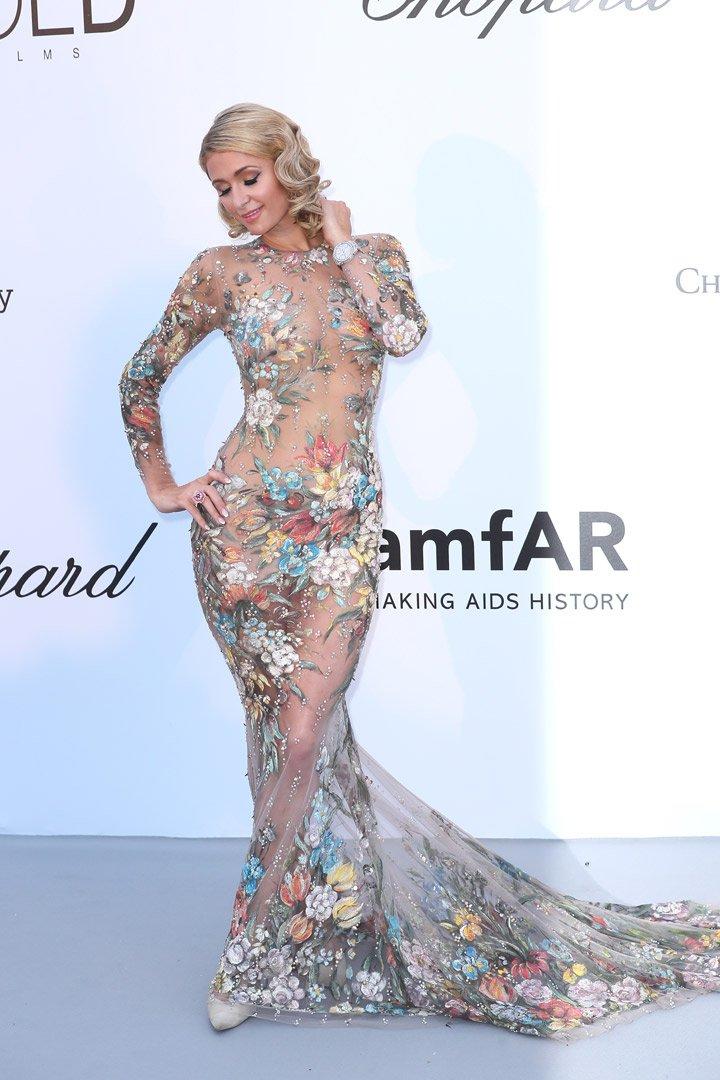 Paris Hilton Gala amfAR 2018 Cannes