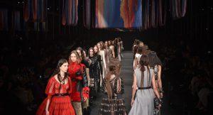 Alexander McQueen Paris Fashion Week FW/17-18
