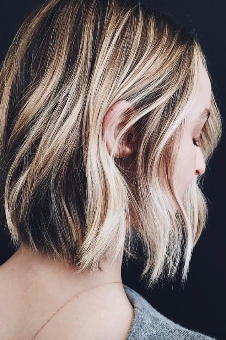 Perfecto peinados melena midi Fotos de tendencias de color de pelo - 100 peinados fáciles para melena midi - StyleLovely