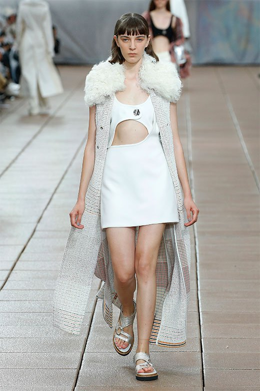 chaleco de Phillip Lim Ready to Wear SS 2019