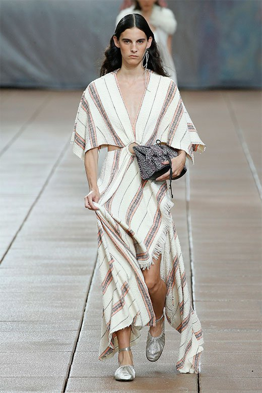 Vestido blanco de Phillip Lim Ready to Wear SS 2019