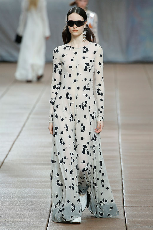 Vestido largo de Phillip Lim Ready to Wear SS 2019