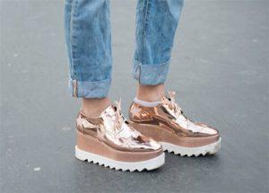 Zapatos de plataforma para elevar tu look
