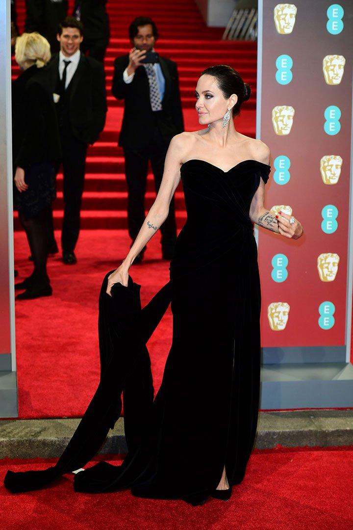 BAFTA 2018 Angelina Jollie